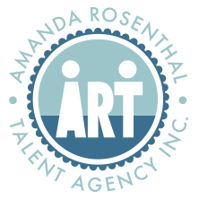 Amanda Rosenthal Talent Agency Retina Logo